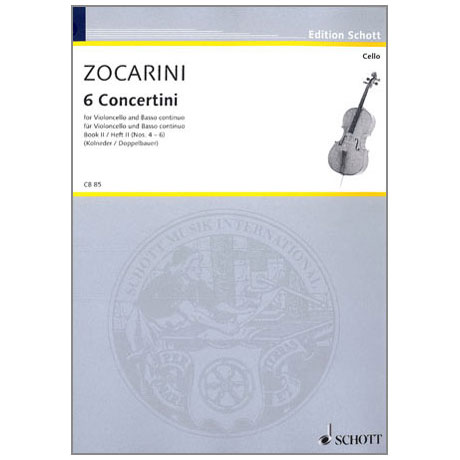 Zocarini, M.: 6 Concertini Band 2 (4-6)