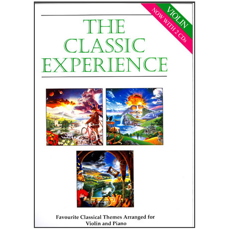 The Classic Experience – Violin (+ 2CDs)