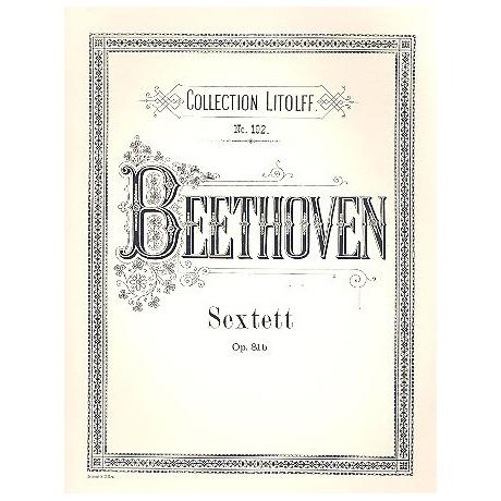Beethoven, L.v.: Sextett Es-Dur, op. 81b