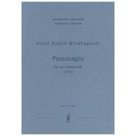 Windhagauer, H. R.: Passacaglia (2016)