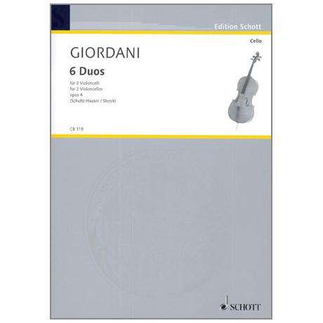 Giordani, T.: 6 Duos Op.4