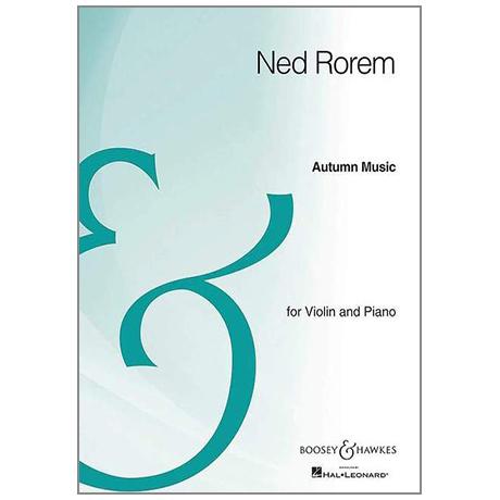 Rorem, N.: Autumn Music