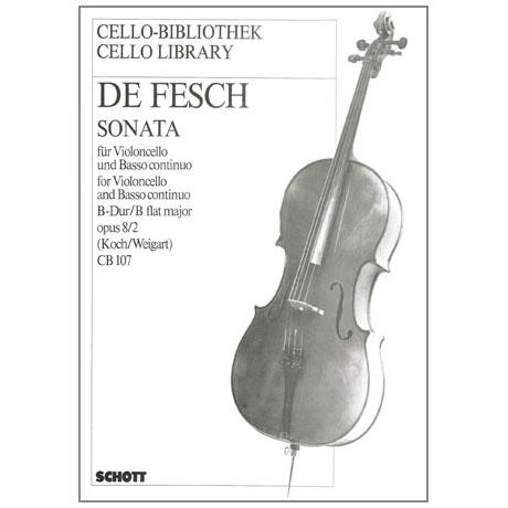 Fesch, W. d.: Sonata Op. 8/2 B-Dur