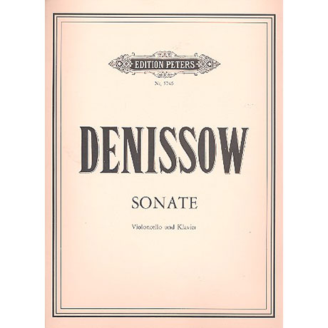 Denissow, E.: Violoncellosonate (1971)