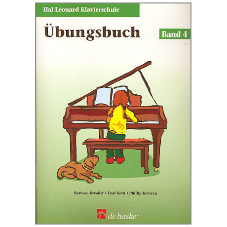 Kreader, B: Hal Leonard Klavierschule Band 4