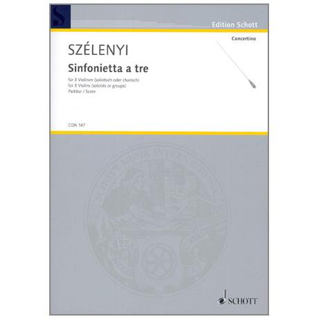 Szelényi, I.: Sinfonietta a tre