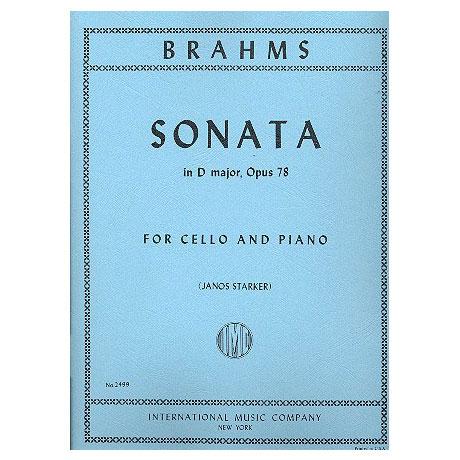 Brahms, J.: Violoncellosonate Op. 78 D-Dur