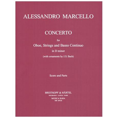 Marcello, A.: Oboenkonzert d-Moll – Partitur und Stimmen