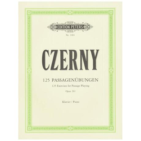 Czerny, C.: 125 fortschreitende Passageübungen Op. 261