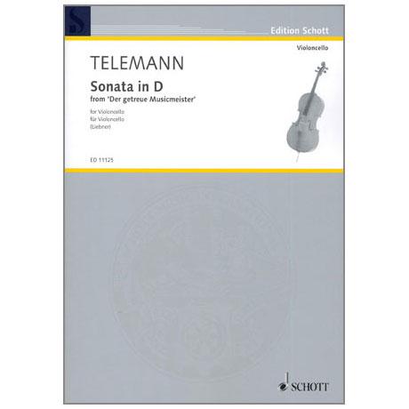 Telemann, G. Ph.: Violoncellosonate D-Dur