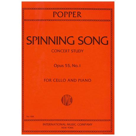 Popper, D.: Spinning wheel Op. 55