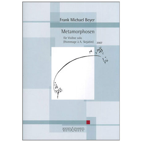 Beyer, F. M.: Metamorphosen