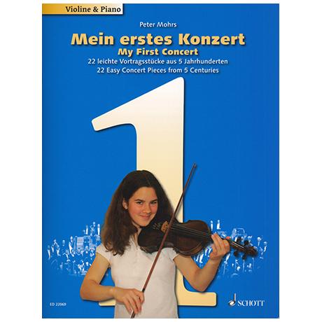 Mohrs, P.: Mein erstes Konzert