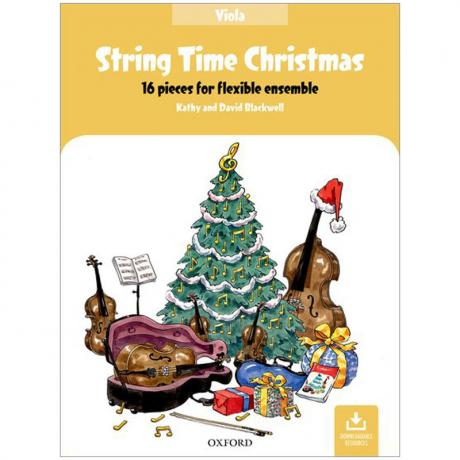 Blackwell, K. & D.: String Time Christmas – Viola (+Online Audio)