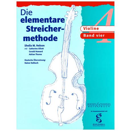 Die elementare Streichermethode – Band 4