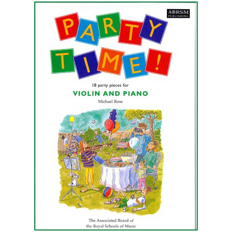 Rose, M.: Party Time! For Violin And Piano