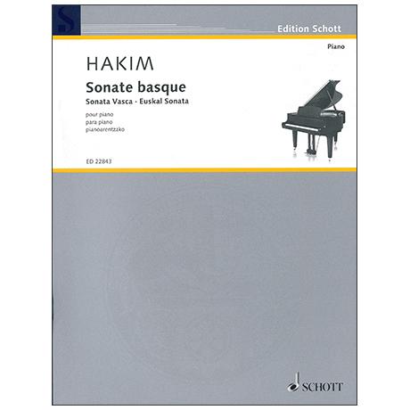Hakim, N.: Sonate basque