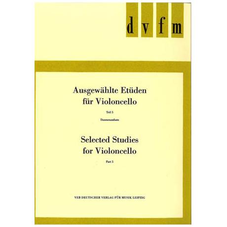 Lösche, H.: Ausgewählte Etüden für Violoncello Teil 5