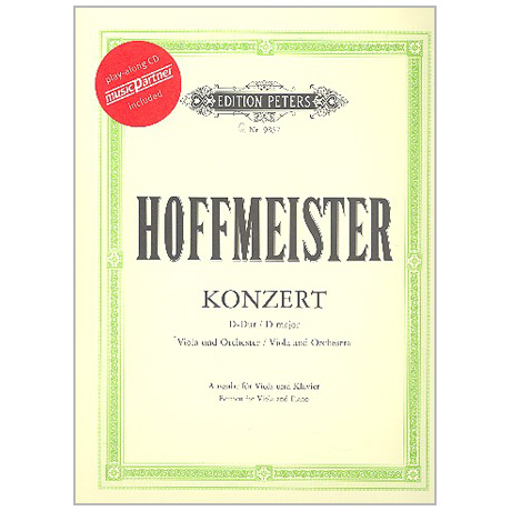 Hoffmeister, F. A.: Violakonzert D-Dur (+CD)