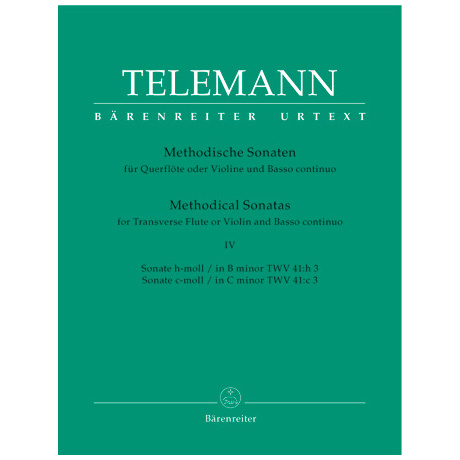Telemann, G. Ph.: Methodische Sonaten - Band 4