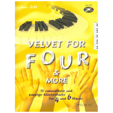 Zett, L.: Velvet for Four & More (+CD)