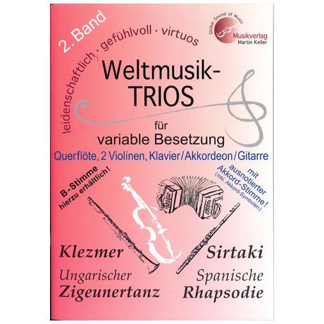 Weltmusik-Trios für variable Besetzung Band 2