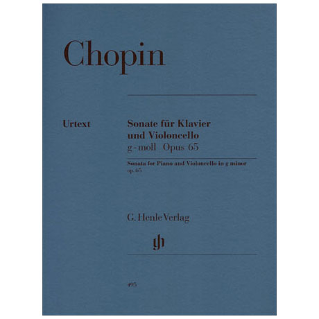 Chopin, F.: Violoncellosonate Op. 65 g-Moll