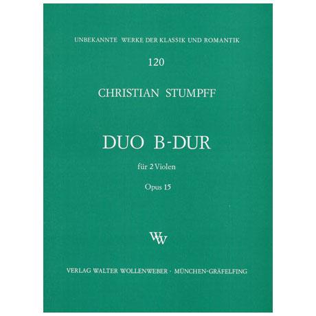 Stumpff, J.C.: Duett B-Dur Op.15