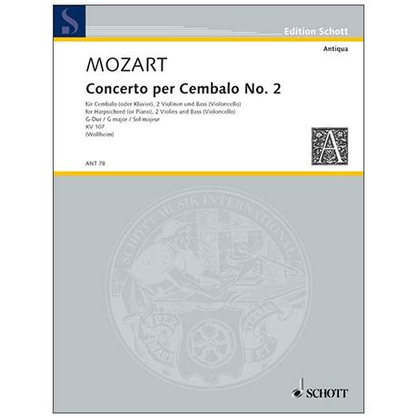 Mozart, W. A.: Concerto II KV 107 G-Dur