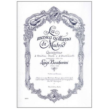 Boccherini, L.: La musica notturna di Madrid