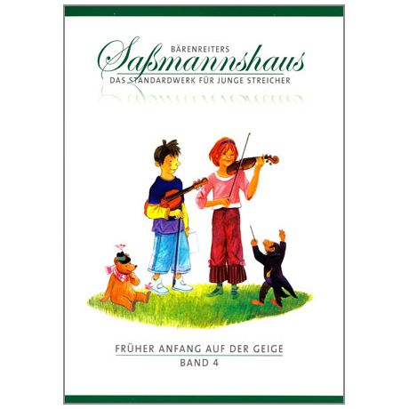 Sassmannshaus, E.: Früher Anfang auf der Geige Band 4