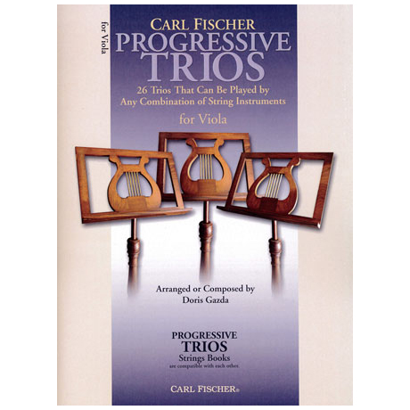 Progressive Trios for Strings – Viola