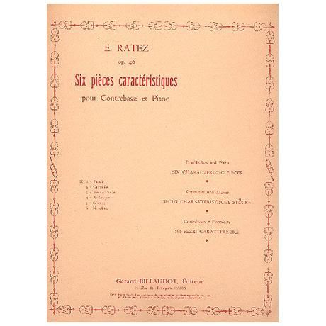 Ratez, E.: 6 Pièces Caractéristiques Op. 46/3 Menuet varié