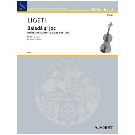Ligeti, G.: Baladă şi joc (1950)