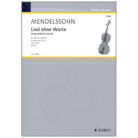 Mendelssohn Bartholdy, F.: Lied ohne Worte Op. 30 Nr. 3