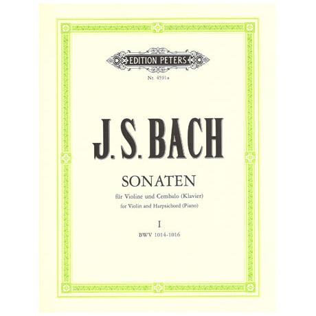Bach, J.S.: Sechs Sonaten - Band 1: BWV 1014 - 1016