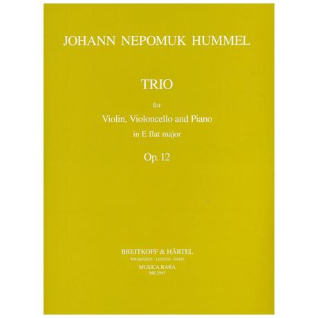 Hummel, N.: Klaviertrio Es-Dur op.12