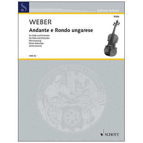 Weber, C. M. v.: Andante und Rondo ungarese