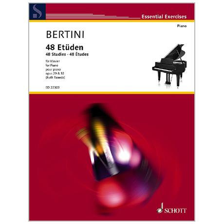 Bertini, H.: 48 Etüden Op. 29 und 32