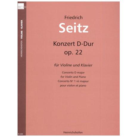 Seitz, F.: Schülerkonzert Nr. 2 in D-Dur op. 22