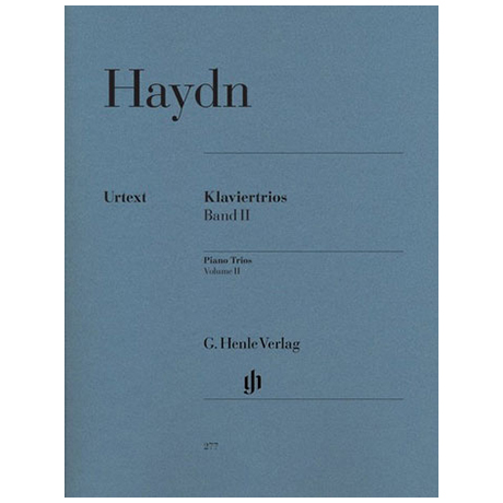 Haydn, J.: Klaviertrios Band 2, Hob XV: 5-14 Urtext
