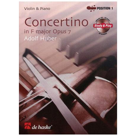 Huber, A.: Violinkonzert Op. 7 F-Dur (+CD)
