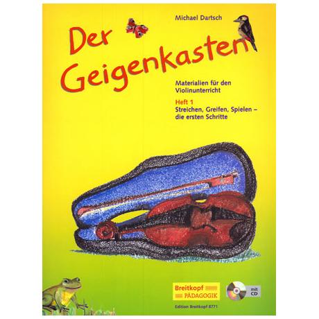 Dartsch, M.: Der Geigenkasten Heft 1 (+CD)