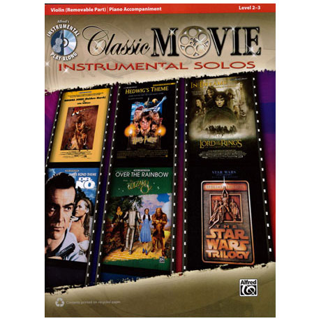 Classic Movie Instrumental Solos (+CD)