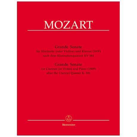 Mozart, W. A.: Grand Sonate A-Dur