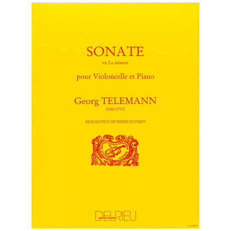 Telemann, G.: Sonate La mineur