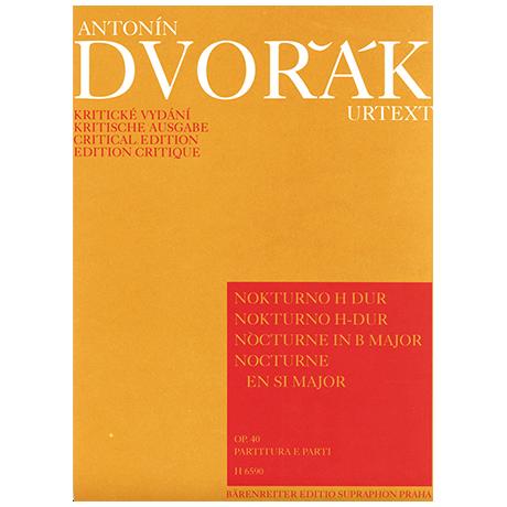 Dvořák, A.: Nocturne Op. 40 H-Dur