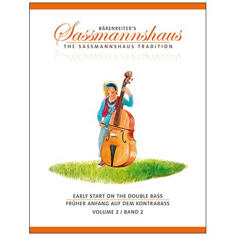 Sassmannshaus, H.: Früher Anfang auf dem Kontrabass Band 2