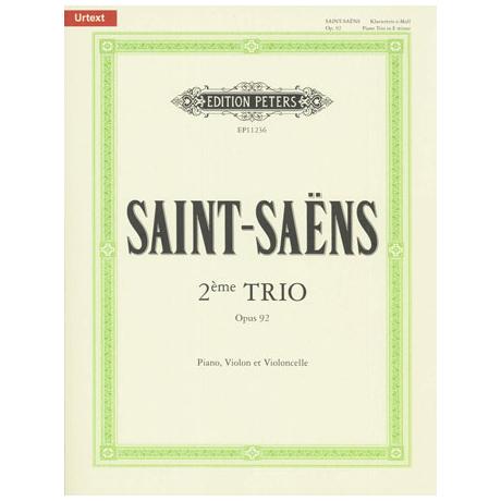 Saint-Saëns, C.: Klaviertrio Nr. 2 Op. 92 e-Moll (1892)