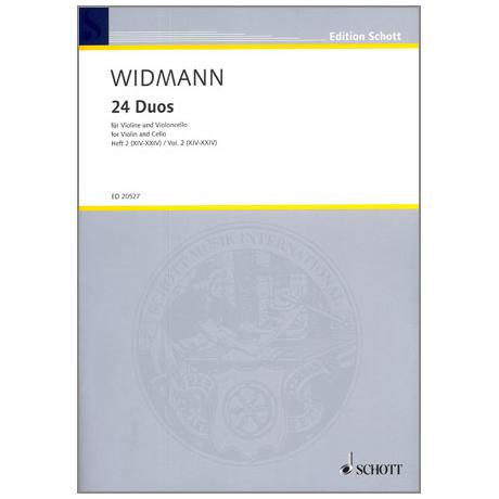 Widmann, J.: 24 Duos – Band 2